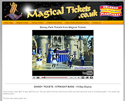 Magical Tickets, Disney and Florida attraction tickets website