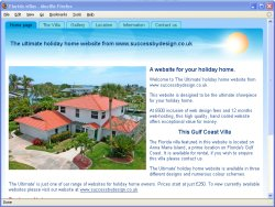 Best Value Holiday Home website